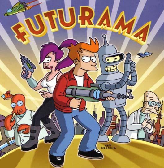 Series/Programas de tv  Futurama2