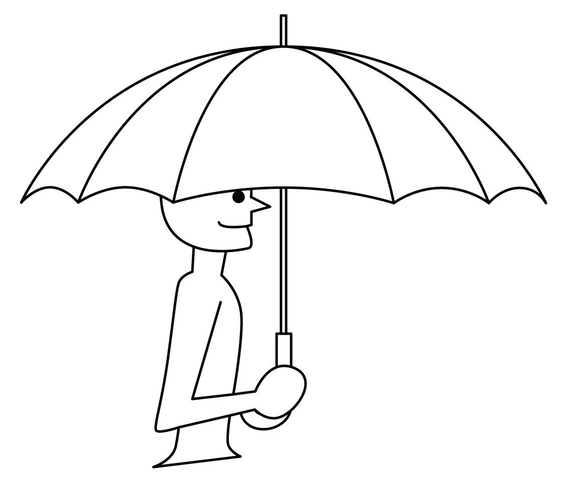 Sombrilla para dibujar - Imagui