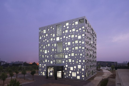 Cube tube for Architecture cubique
