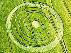 The Barbury Castle crop circle
