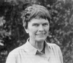 Julia Bowman Robinson en 1985