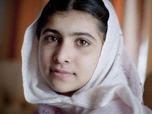 Malala Yusafazi, ©Véronique de Viguerie