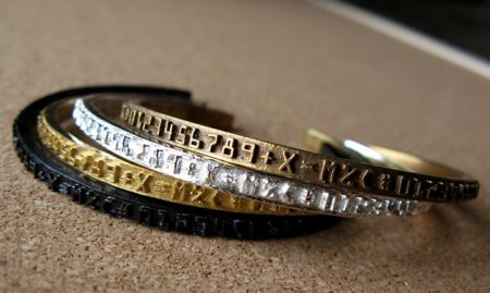 NUMBER BAND CUFFS, http://robynnmolino.com/artwork/2511109_NUMBER_BAND_CUFFS.html