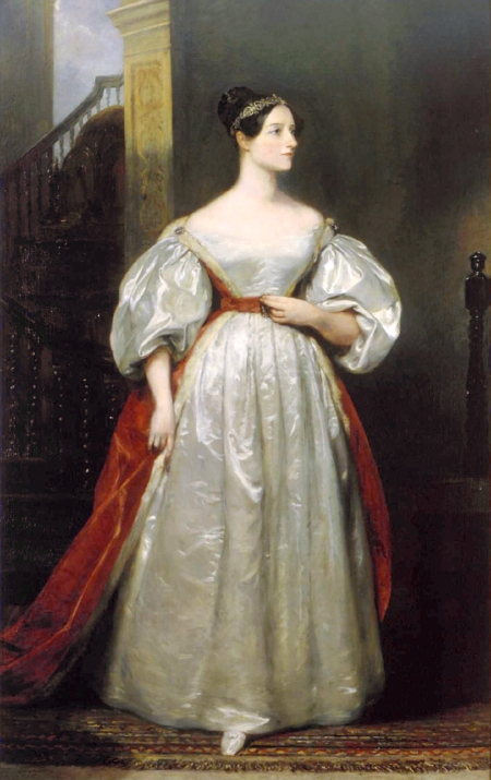 http://commons.wikimedia.org/wiki/File:Ada_Lovelace.jpg