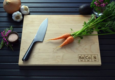 Bacon (Bario, Cobalto y Nitrógeno) http://www.etsy.com/listing/150006334/bacon-enthusiast-engraved-cutting-board?ref=shop_home_feat