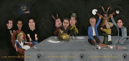 """""""Una merienda de locos"""" de Tonay http://tonayesloquehay.wordpress.com/"""