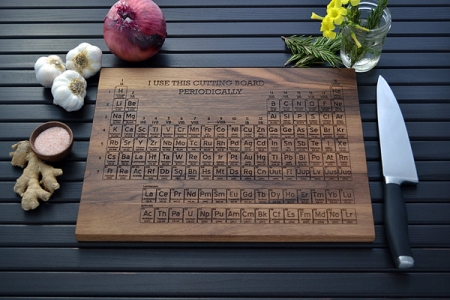 I use this cutting board periodically http://waveavenue.com/profiles/blogs/cleverly-playful-personalized-cutting-boards-by-elysium-woodworks