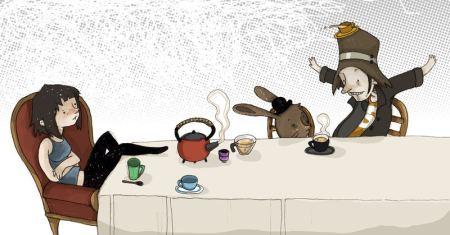 """""""Una merienda de locos"""" por Bea Tormo http://www.beatormo.com/"""