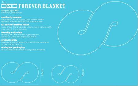 http://www.huzidesign.com/wp-content/uploads/2012/11/forever-blanket-specs.pdf