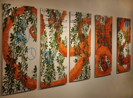 """Sarah Brewer: """"Fibonacci Octopus"""", 2010 http://www.artnotapathy.com/images/fibonaccioctopus.jpg"""