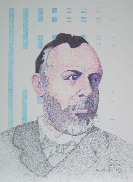 Georg Cantor por Araceli Giménez