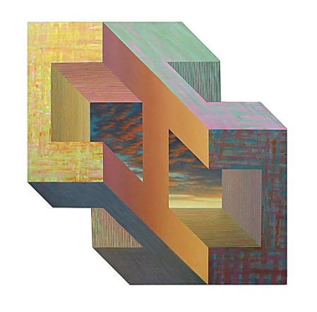 Freek van Ginkel: No title http://www.saatchionline.com/art-collection/Painting/Forms-of-space-spaces-of-form/182503/32279/view