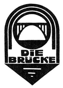 "Logotipo de ""Die Brücke"" http://commons.wikimedia.org/wiki/File:Signet_Die_Bruecke.jpg"