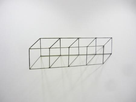 "Tjeerd Alkema, ""Le cube"", le Cube, Ecole Nationale d'Architecture, Montpellier, 2011 http://alkema.hanna.perso.sfr.fr/tjeerdalkema/ENSAM11.html DR, courtesy Tjeerd Alkema, 2013"