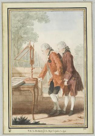 Carmontelle, Les deux frères Montmort