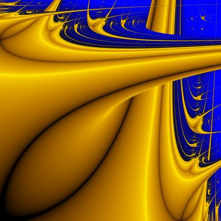 Un fractal de Lyapunov http://en.wikipedia.org/wiki/File:Lyapunov-fractal-AB.png