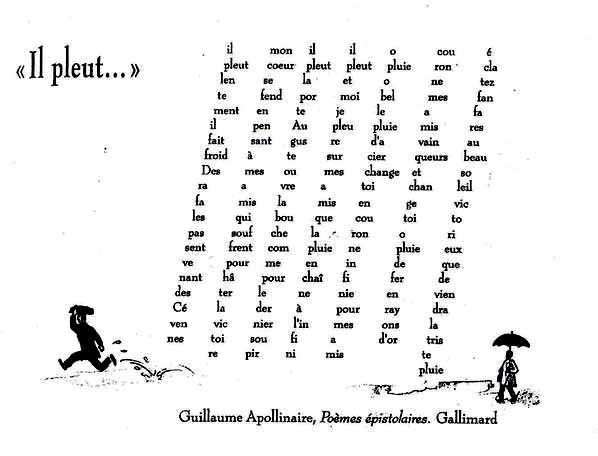 Calligrammes Poèmes De La Paix Et De La Guerre 1913 1916