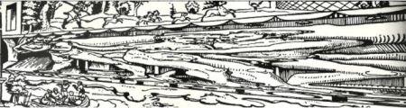 "Erhard Schön, ""Aus, du alter Tor!"", 1538 (parte derecha de la imagen)"