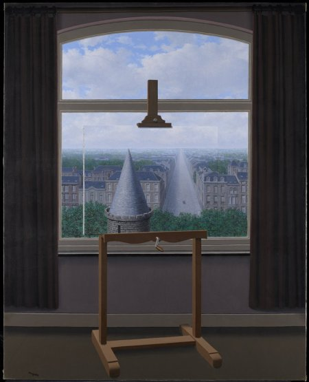 "René Magritte, ""Les Promenades d'Euclide"", 1955 Minneapolis Institute of Arts https://collections.artsmia.org/?page=simple&id=1670#"