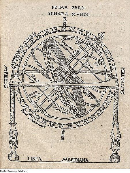 Una imagen de 'Cosmographia'