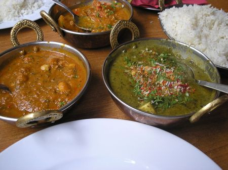 http://commons.wikimedia.org/wiki/File:Indian_Vegeterian_dishes_P7180106.JPG