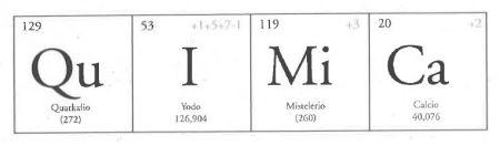 """Página 11 de """"Química"""" de Sofía Rhei"""