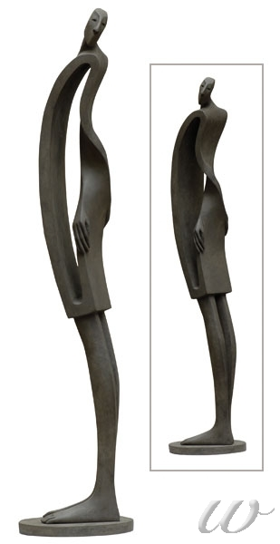 "Isabel Miramontes, ""Moebius"", bronce http://blog.rewelch.com/2010/12/miramontes-art-gens-passions-interview.html"