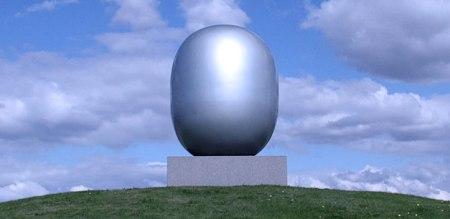 """El """"Super-egg"""" aen Skjern http://www.piethein.com/uploads/pics/IMG_1473_egg_01.jpg"""