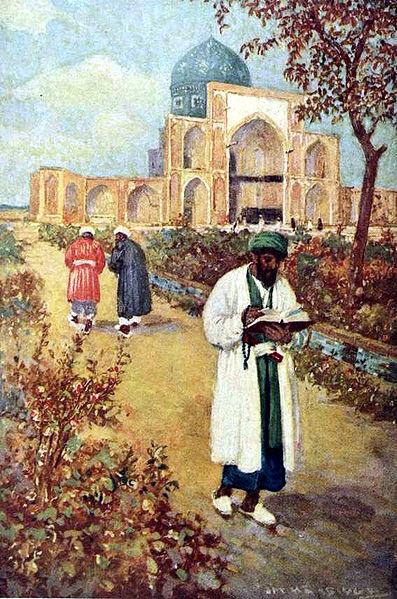 "Jay Hambidge, ""At the Tomb of Omar Khayyam"""