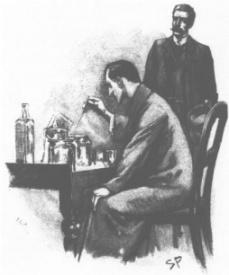 "Sherlock Holmes y Dr. Watson, ""The Naval Treaty"" , 1892"
