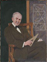 """""""Jay Hambidge"""" por Denman Waldo Ross http://www.harvardartmuseums.org/art/310997"""