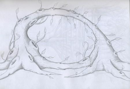 Mel Watkin,TREE: Mobius #1,  2006 http://melwatkin.com/zoom/1400x680/2879719.html