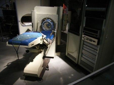 Primer escáner (para cabeza) fabricado por EMI