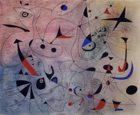 "Joan Miró, ""La estrella matutina"", 1940 http://www.fundaciomiro-bcn.org/coleccio_obra.php?obra=637&idioma=6/"