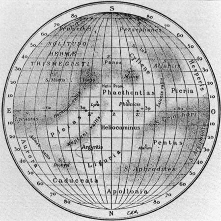 Mapa de mercurio, 1934
