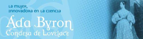 """Parte del panel de Ada Byron en la exposición  """"La mujer innovadora de la Ciencia"""", RSME http://bit.ly/MKYwqs"""