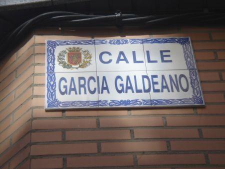Calle García de Galdeano en Zaragoza
