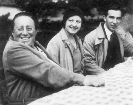 Göttingen, 1931:  Emmy Noether, Marie-Louise Dubreil-Jacotin, Paul Dubreil