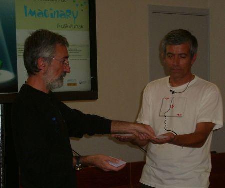 Pedro y Juan Carlos en Imaginary Bilbao, 2011 http://www.ehu.es/imaginary/