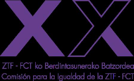 Logotipo diseñado para la Comisión para la Igualdad de la ZTF-FCT por Iñigo Tobes Bardi, Eder Ruesga Lopez e Iñigo San Emeterio