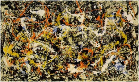 Jackson Pollock, Convergence (1952), The Pollock-Krasner Foundation/Artists Rights Society (ARS), New York
