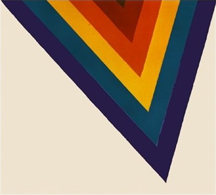 Kenneth Noland, Bridge, 1964