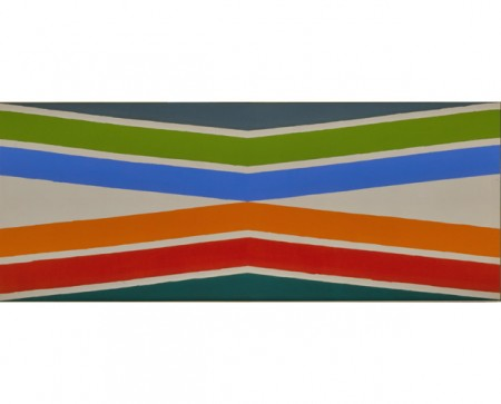 Kenneth Noland, Tropical Zone, 1964 http://www.kennethnoland.com