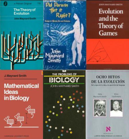Algunas portadas de sus libros