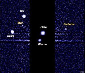 ¿Dónde acaba el polvo emitido por los pequeños satélites de Plutón? por Francisco Sevilla participa desde el blog Vega 0.0