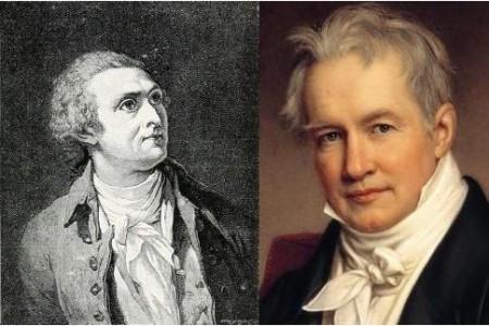 Horace-Bénédict de Saussure y Alexander von Humboldt