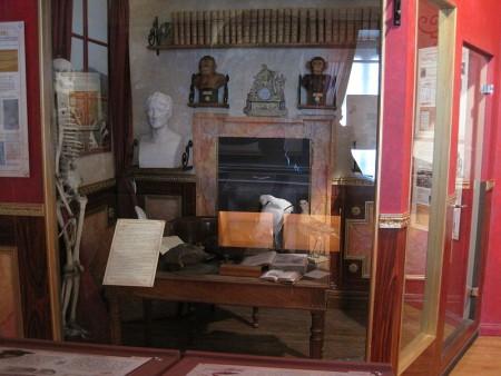 Despacho de Georges Cuvier, Musée Cuvier de Montbéliard