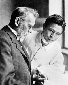 Paul Ehrlich y Hata Sahachirō