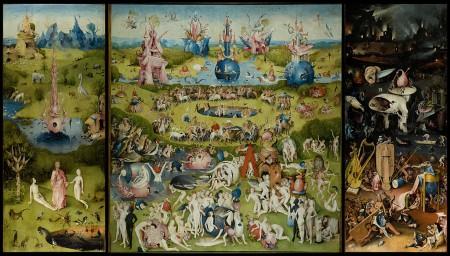 """""""El jardín de las delicias"""" de El Bosco (1450-1516)"""