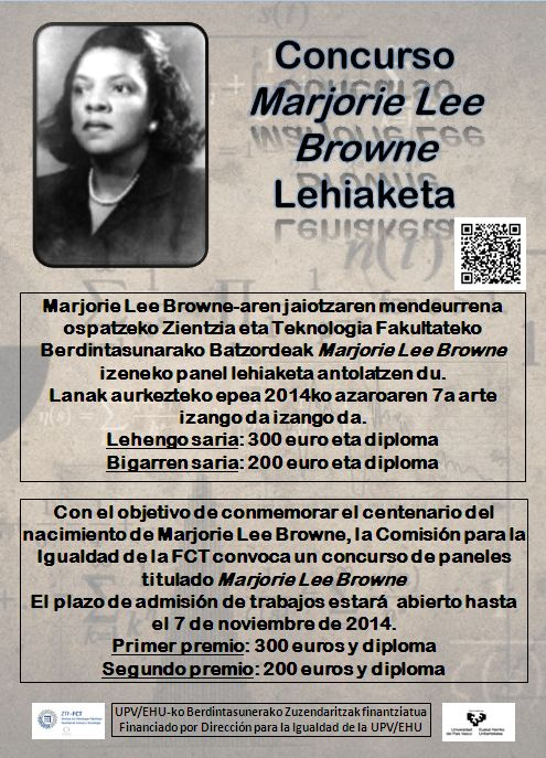 what was marjorie lee brownes thesis Marjorie lee browne, one of the first african-american women to receive a doctorate in mathematics portrait by janna morton.